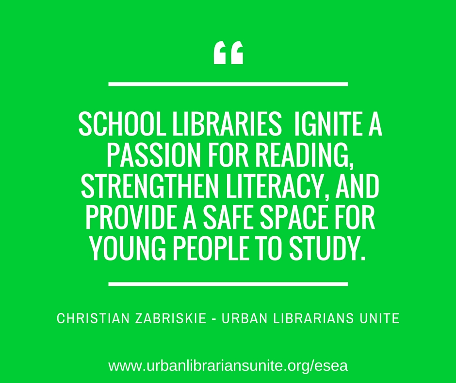 school libraries ignite a passion for reading, strengthen literacy and provide a safe space for people to study