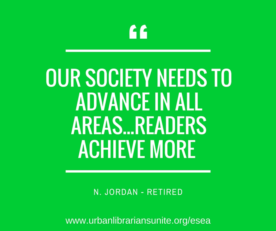 our society needs to advance in all areas... readers achieve more