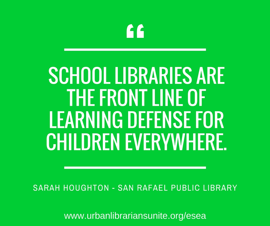 School libraries are the front line of learning defense for children everywhere