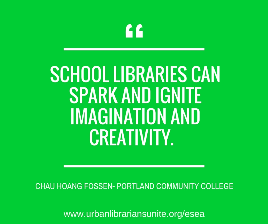 School Libraries can spark and ignite imagination and creativity