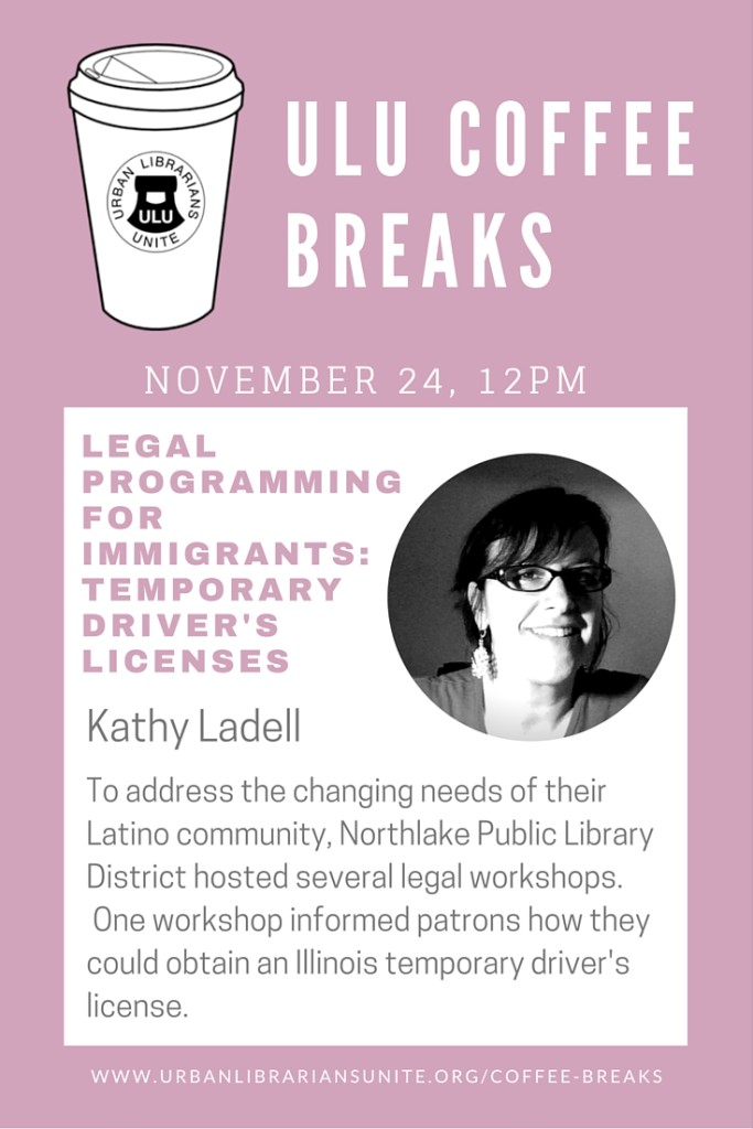 ULU Coffee Breaks - November 24