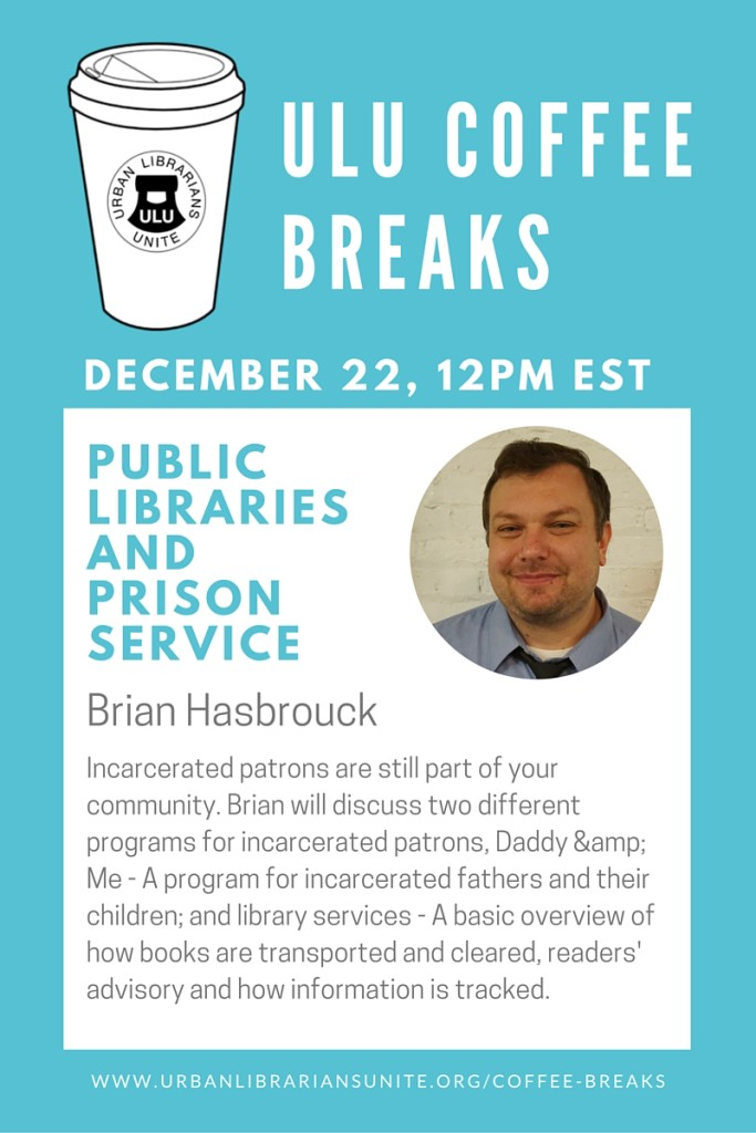 Public Libraries and Prison Service - Brian Hasbrouck