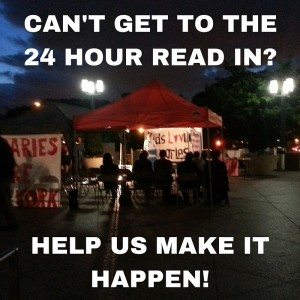 Can't Make it to the 24 Hour Read In-