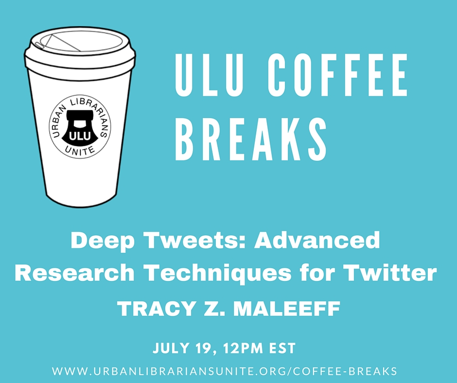ULU Coffee Break -July 19, 2016